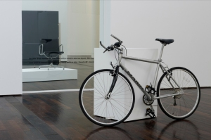 Simon Starling chair bike