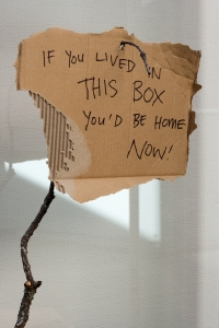 Justine Giles, 2015, If you lived in this box(detail)